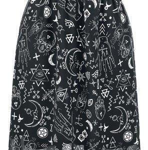 Gothicana By Emp Vokuhila Chiffon Dress Mekko