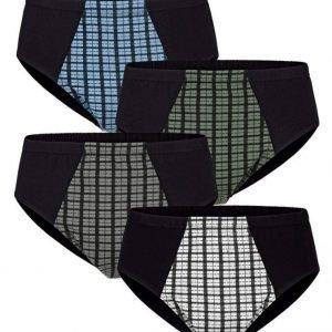 Gregory Alushousut 4x Musta / Monivärinen