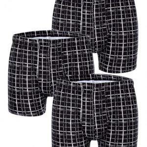 Gregory Bokserit 3x Musta / Valkoinen
