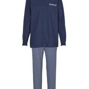 Gregory Pyjama Laivastonsininen / Valkoinen