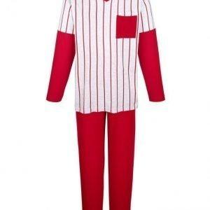 Gregory Pyjama Punainen / Meleerattu Harmaa