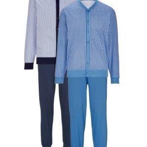 Gregory Pyjama Vaaleansininen / Valkoinen / Laivastonsininen