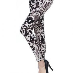 Grey Tiger Leggings Tights