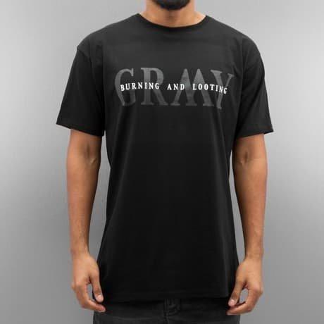 Grimey Wear T-paita Musta