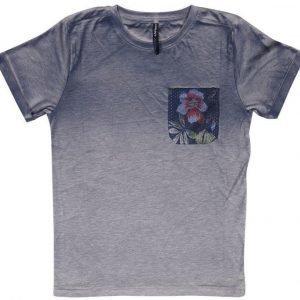 Grunt T-paita Bip Grey Melange