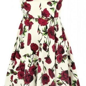 H&R London 50s Ditsy Rose Floral Summer Dress Mekko