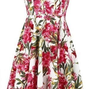 H&R London 50s Pink Maureen Floral Swing Dress Mekko