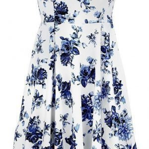 H&R London Blue Rosaceae Swing Dress Mekko