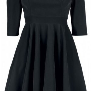 H&R London Glamorous Velvet Tea Dress Mekko