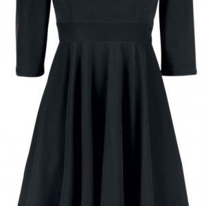 H&R London Glamorous Velvet Tea Dress Mekko