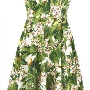 H&R London Lemon Blossom Floral 50s Dress Mekko