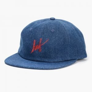 HUF Denim Script 6 Panel