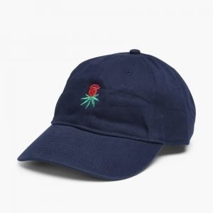 HUF Rosebud Curved Brim 6 Panel