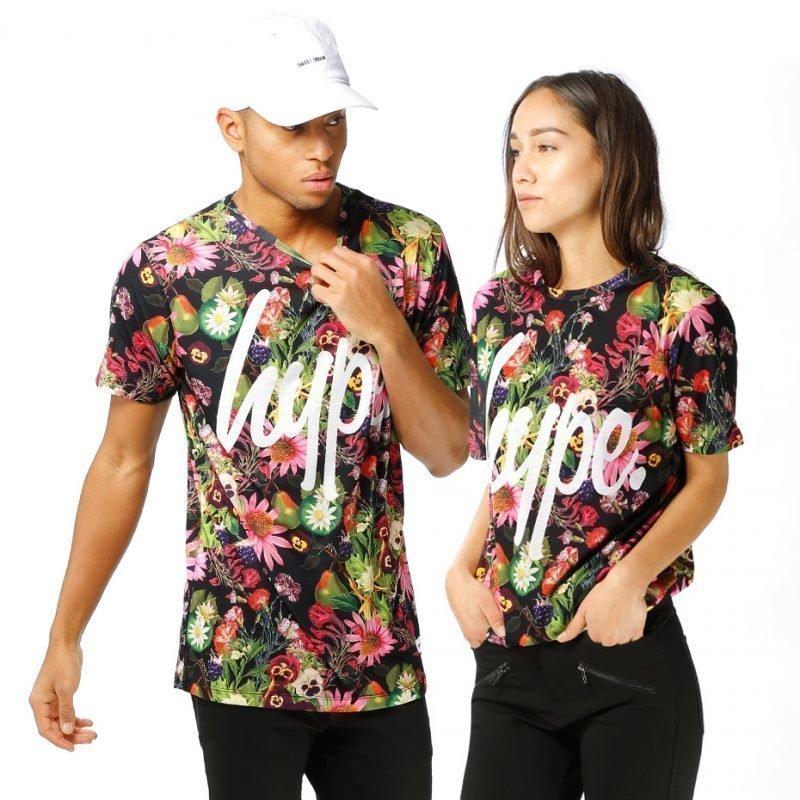 HYPE. Fruit Floral AOP -t-paita