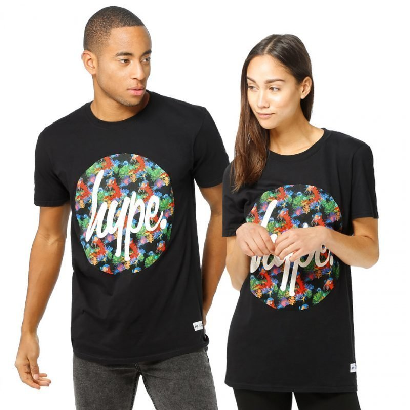 HYPE. Neon Reef Circle -t-paita