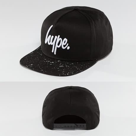 HYPE Snapback Lippis Musta