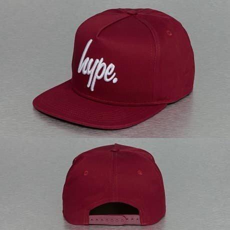 HYPE Snapback Lippis Punainen