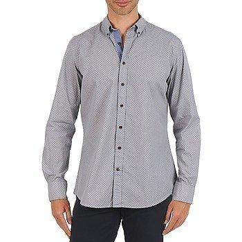 Hackett MEDALLION MULTI BD pitkähihainen paitapusero