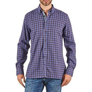 Hackett SOFT BRIGHT CHECK pitkähihainen paitapusero