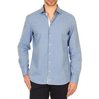 Hackett SOFT CHAMBRAY pitkähihainen paitapusero