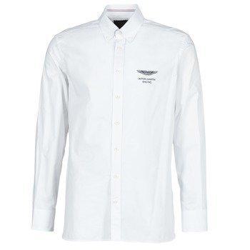 Hackett WHITE SEL pitkähihainen paitapusero