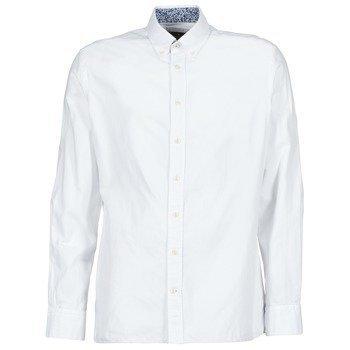 Hackett WHITE TEXT MULTI pitkähihainen paitapusero