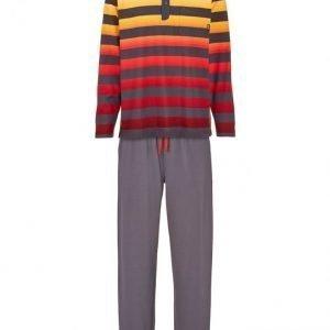 Hajo Pyjama Antrasiitti / Punainen / Maissi