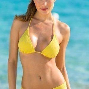 Halens Bikinihousut Keltainen