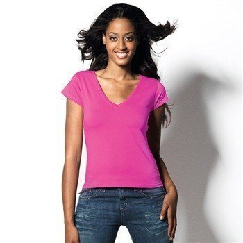 Hanes Beauty V-neck