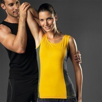 Hanes Sports Tank Top Contrast Women
