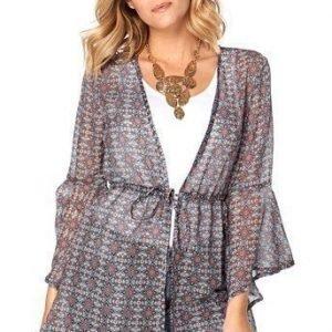 Happy Holly Kimono Alva  Kuvioitu