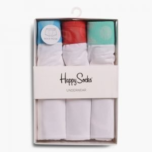 Happy Socks 3-Pack Contrast Trunk