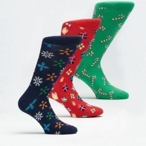Happy Socks 3-pack Socks 7000