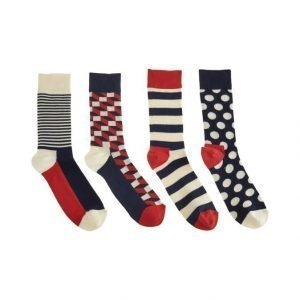 Happy Socks Big Dot Sukat 4-Pack
