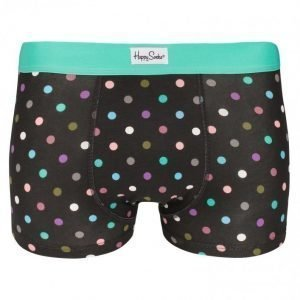 Happy Socks Dot Trunk Bokserit Black