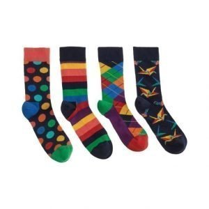 Happy Socks Origami Sukat 4-Pack