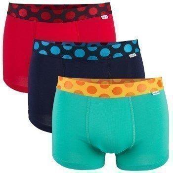 Happy Socks Pop Trunk 3 pakkaus