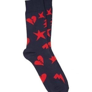 Happy Socks Punk Love Sukat