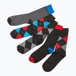 Happy Socks Raidalliset Sukat