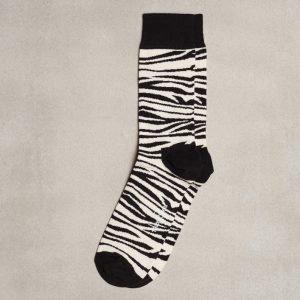Happy Socks Zebra Sock Sukat Zebra