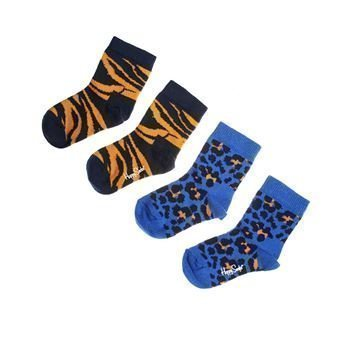 Happy socks Animal Socks Blue 2 pakkaus