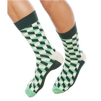Happy socks Filled Optic Sock Men