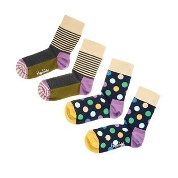 Happy socks Kids Big Dots Socks Purple 2 pakkaus
