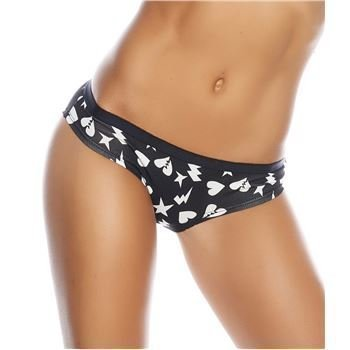 Happy socks Punk Love Brief Black