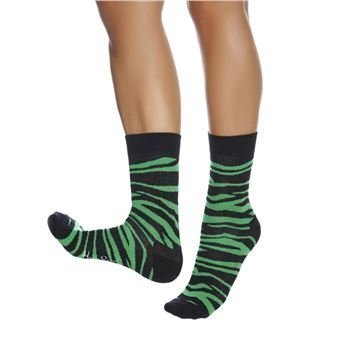 Happy socks Zebra Sock Green