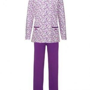 Harmony Pyjama Fuksia / Valkoinen / Liila