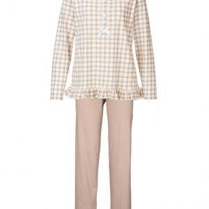 Harmony Pyjama Harmaanruskea / Ecru