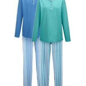 Harmony Pyjama Jade / Sininen