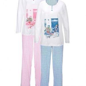 Harmony Pyjama Vaaleansininen / Roosa