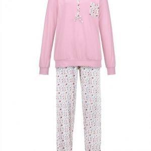 Harmony Pyjama Valkoinen / Syreeni / Roosa